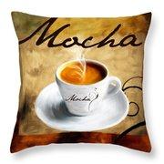 I Like  That Mocha Throw Pillow by Lourry Legarde