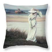 I See The Horizon Throw Pillow by Joana Kruse