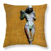 I Stand Alone Throw Pillow by Marcia Lee Jones