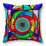 I Trust Myself To Create Throw Pillow by Teal Eye  Print Store