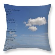 I Want To Believe Throw Pillow by Bill Cannon