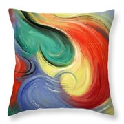 I Will Supply All Your Needs Throw Pillow by Anthony Falbo