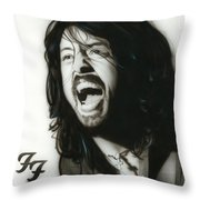 'if Everything Could Ever Feel This Real Forever' Throw Pillow by Christian Chapman Art