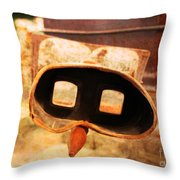 Images of the Past Throw Pillow by Janice Rae Pariza