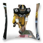 Immaculate Franco Throw Pillow by David Bearden