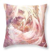 Immanuel Throw Pillow by Rachel Christine Nowicki