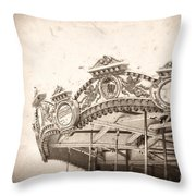 Impossible Dream Throw Pillow by Trish Mistric