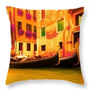 Impressionistic photo paint GS 007 Throw Pillow by Catf