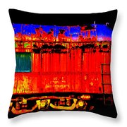 Impressionistic Photo Paint Gs 017 Throw Pillow by Catf
