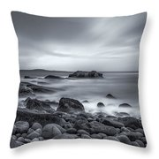 In A Tidal Wave Of Mystery Throw Pillow by Evelina Kremsdorf