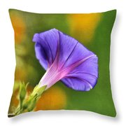 In All Her Glory Throw Pillow by Darren Fisher