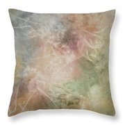 In Full Bloom Throw Pillow by Jean Moore