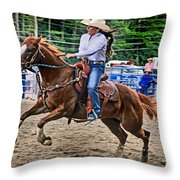In It To Win It Throw Pillow by Gary Keesler