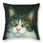 In Memoriam Throw Pillow by Jutta Maria Pusl