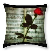 In My Life Throw Pillow by Bill Cannon