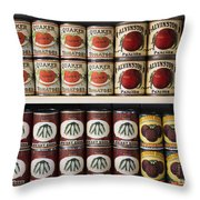 In The Cupboard Throw Pillow by Barbara McMahon