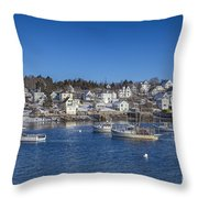 In The Morning Light Throw Pillow by Evelina Kremsdorf