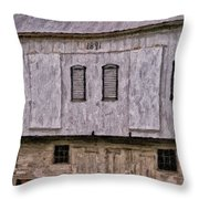 In The Year 1891 Throw Pillow by Lois Bryan
