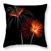 Independence Day  Throw Pillow by Saija  Lehtonen
