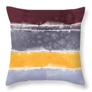 Indian Summer Throw Pillow by Linda Woods