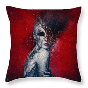 Indifference Throw Pillow by Mario Sanchez Nevado