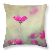 Ingrid's Garden Throw Pillow by Amy Tyler