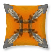 Inner Chi Throw Pillow by Deborah Benoit