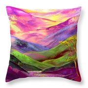 Inner Flame Throw Pillow by Jane Small