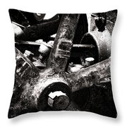 Inoxerable Throw Pillow by Olivier Le Queinec