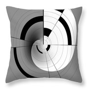 Inside The 12th Dimension Throw Pillow by Sir Josef Social Critic - ART