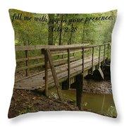 Inspirations 4 Throw Pillow by Sara  Raber