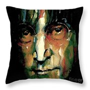 Instant Karma Throw Pillow by Paul Lovering
