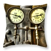 Instruments Throw Pillow by Heiko Koehrer-Wagner