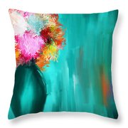 Intense Eloquence Throw Pillow by Lourry Legarde