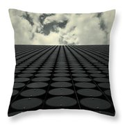 Interdimensional Throw Pillow by Andrew Paranavitana