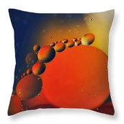 Intergalactic Space 2 Throw Pillow by Kaye Menner