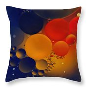 Intergalactic Space 3 Throw Pillow by Kaye Menner