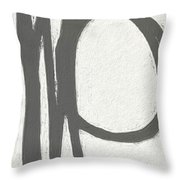 Intersection Throw Pillow by Linda Woods