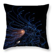 Into The Abyss Throw Pillow by Lisa Knechtel