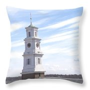 Into The Blue Throw Pillow by Pharris Art
