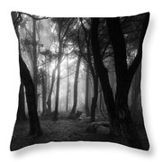 Into The Mystic Throw Pillow by Marco Oliveira