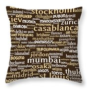 Intransit 20130625bwwa85 Throw Pillow by Wingsdomain Art and Photography