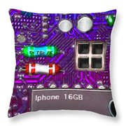 Iphone I-art p128 Throw Pillow by Wingsdomain Art and Photography