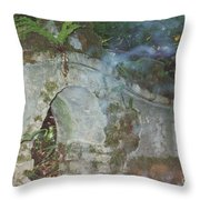 Ireland Ghostly Grave Throw Pillow by First Star Art