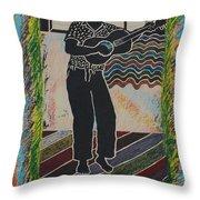 Irie Reggae 1 Throw Pillow by John Powell