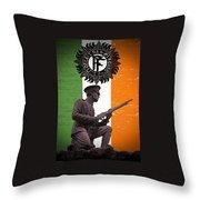 Irish 1916 Volunteer Throw Pillow by David Doyle