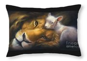 Isaiah Throw Pillow by Charice Cooper