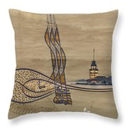 Istanbul Throw Pillow by Ayhan Altun
