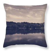 It Surrounds Me Throw Pillow by Laurie Search