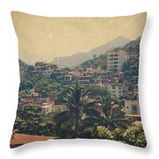 It Was Years Ago Throw Pillow by Laurie Search